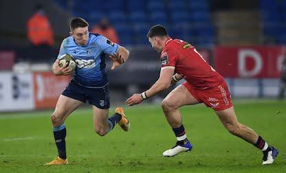 Adams urges Cardiff Blues to continue showing attacking instinct