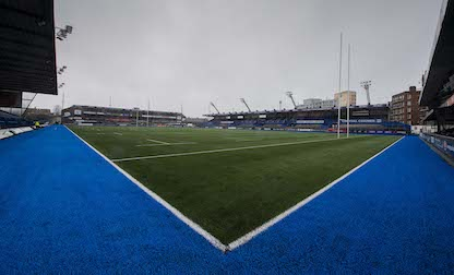 Cardiff Blues return to CAP following successful instillation of new artificial surface