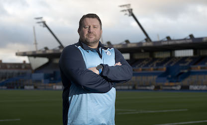 "Young excited to get ""stuck in"" ahead of first game in charge since Cardiff Blues return"