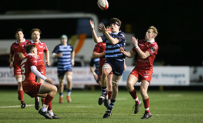 Evans captains Cardiff Blues under-18 in long awaited return to rugby