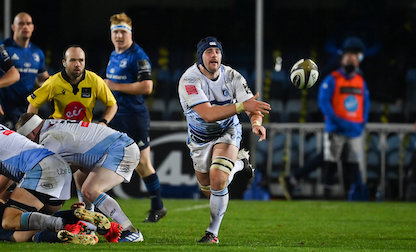 Lawrence ready to give his all for Cardiff Blues jersey