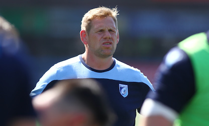 "T Rhys Thomas ""unbelievably proud"" of young Cardiff Blues A side"