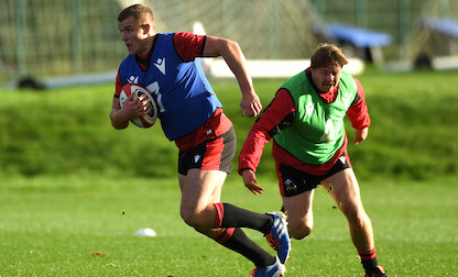 Lewis-Hughes to make Test debut in Guinness Six Nations finale