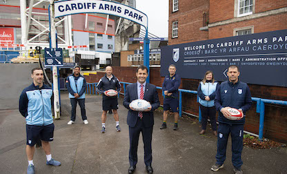 Christ College unites with Cardiff Blues for inclusive rugby partnership