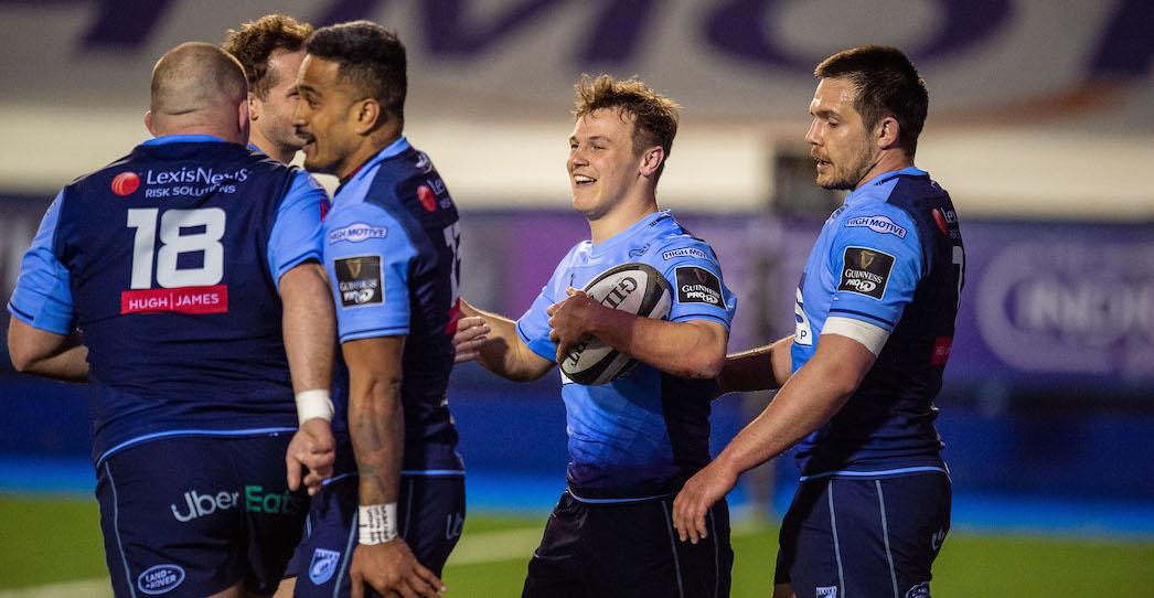 Cardiff Blues 34 Edinburgh Rugby 15